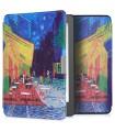 Husa pentru Kobo Aura Edition 2, Piele ecologica, Multicolor, 44409.34