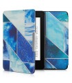 Husa pentru Kindle Paperwhite 7, Piele ecologica, Multicolor, 45569.22