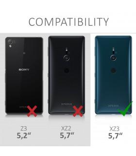Husa Samsung Galaxy S10e, Piele ecologica, Negru, 47581.01