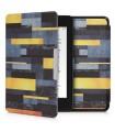 Husa pentru Kindle Paperwhite 10, Piele ecologica, Multicolor, 46644.34