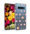 Husa pentru Samsung Galaxy S10, Silicon, Roz, 47448.11
